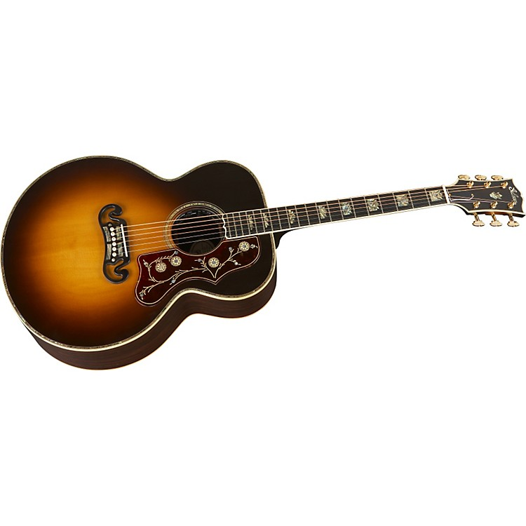 GibsonSJ-200 Rosewood Custom Acoustic-Electric Guitar