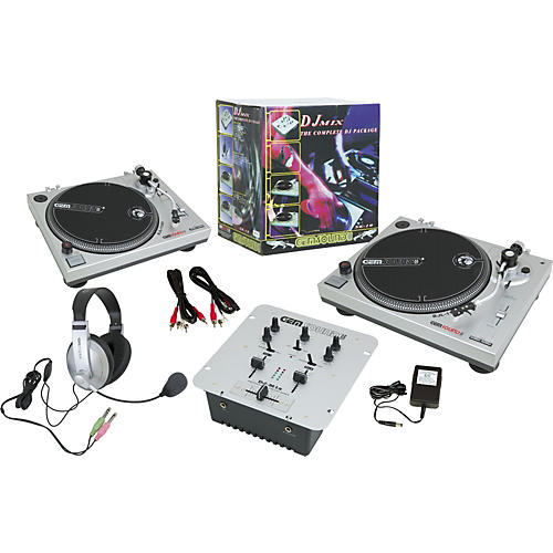 Gem Sound SK-10 DJ Mix Kit-thumbnail