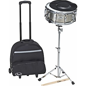 pearl sk 800ch snare drum kit with rolling cart musician 39 s friend. Black Bedroom Furniture Sets. Home Design Ideas