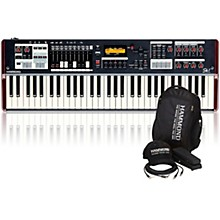Hammond SK1 61-Key Digital Stage Keyboard and Organ with Keyboard Accessory Pack