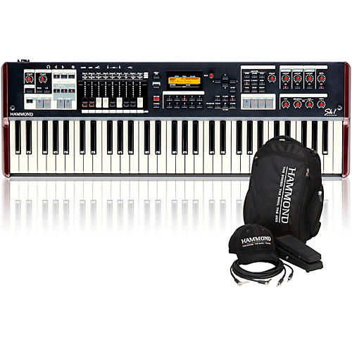 Hammond SK1 61-Key Digital Stage Keyboard and Organ with Keyboard Accessory Pack-thumbnail