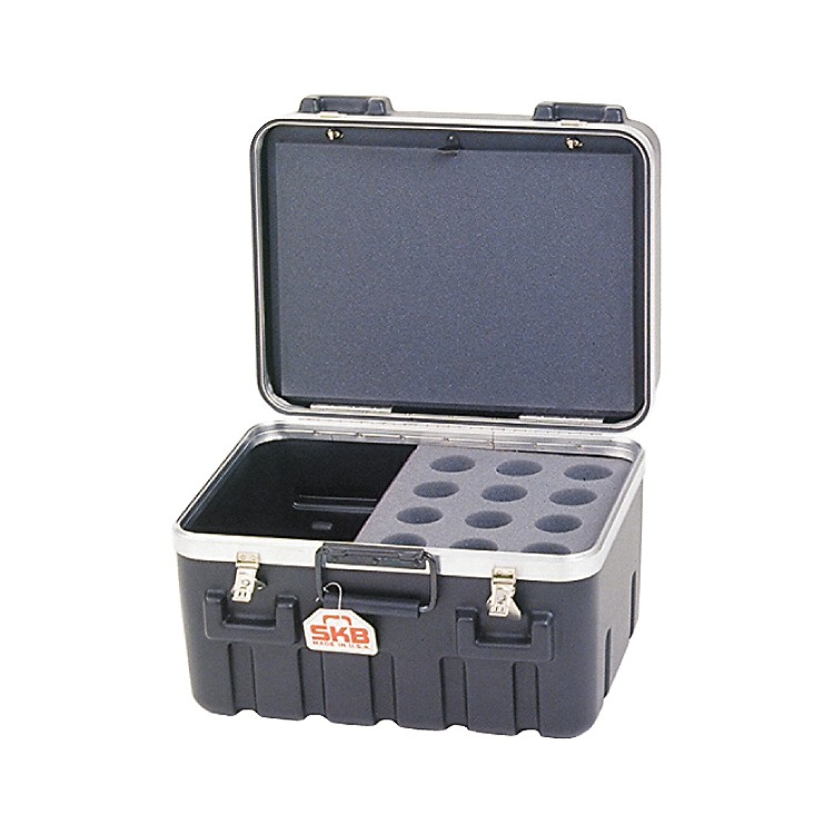 SKBSKB-1200 12-Space ATA Mic Case