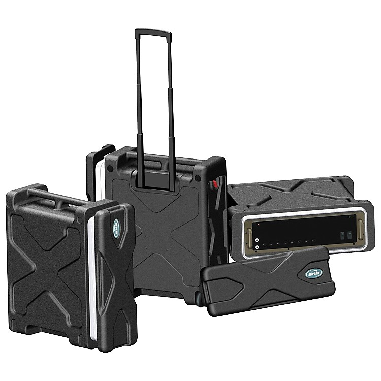 SKB SKB-RLX Roll-X Rack Case with Wheels  6 Space