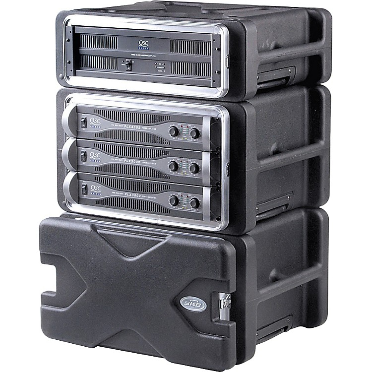 SKBSKB-RLX Roll-X Rack Case with Wheels
