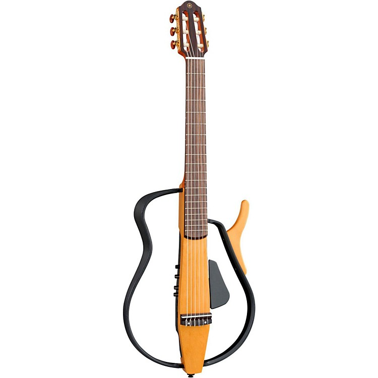 yamaha slg110n nylon string silent guitar musician 39 s friend. Black Bedroom Furniture Sets. Home Design Ideas