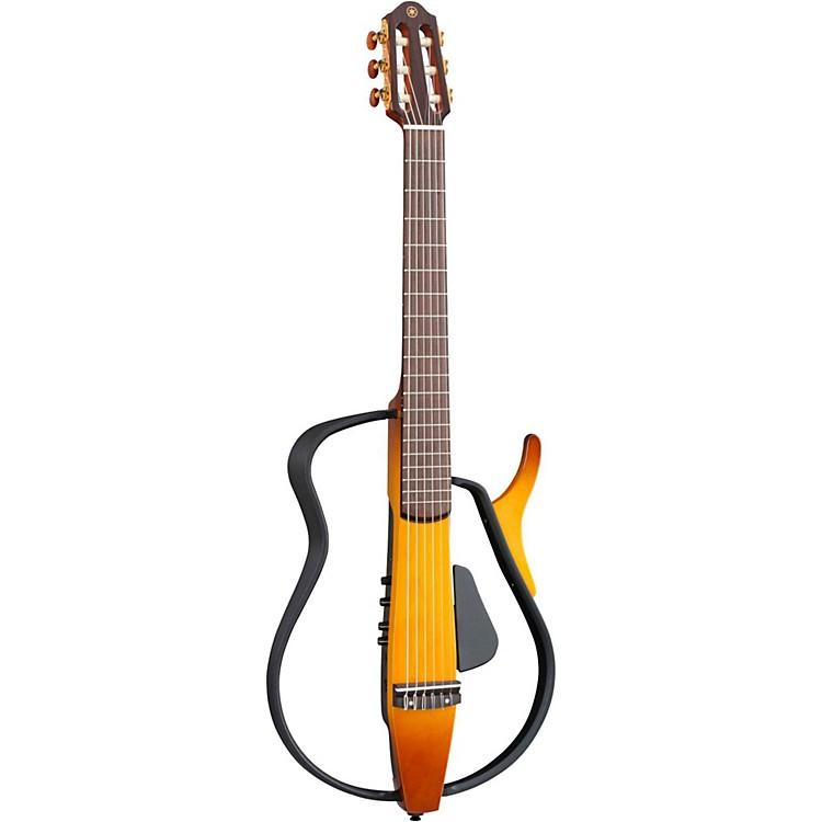 YamahaSLG110N Nylon String Silent GuitarTobacco Sunburst