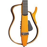 SLG130NW Classical Style Silent Guitar Light Amber Burst