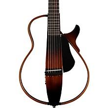 Yamaha SLG200S Steel String Silent Guitar Tobacco Sunburst