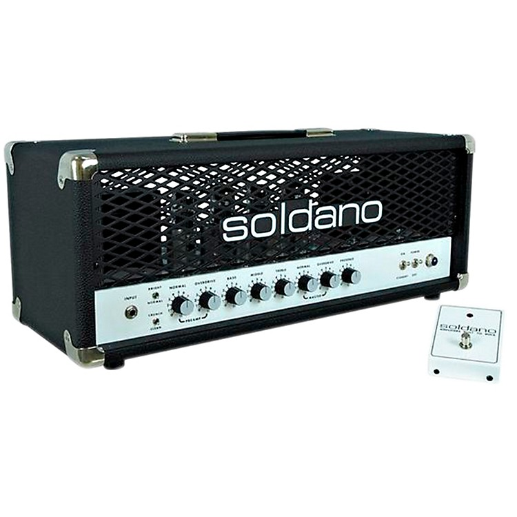 Soldano SLO100 100W Tube Guitar Head with Depth Black
