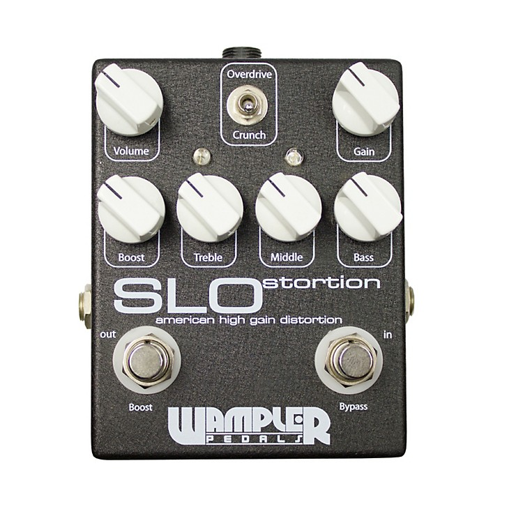 Wampler SLOstortion Distortion Guitar Effects Pedal