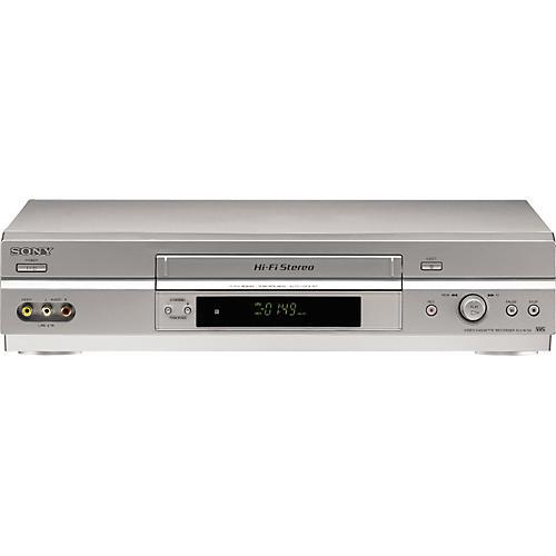 Sony SLV0N750 4-Head Hi-Fi VCR-thumbnail