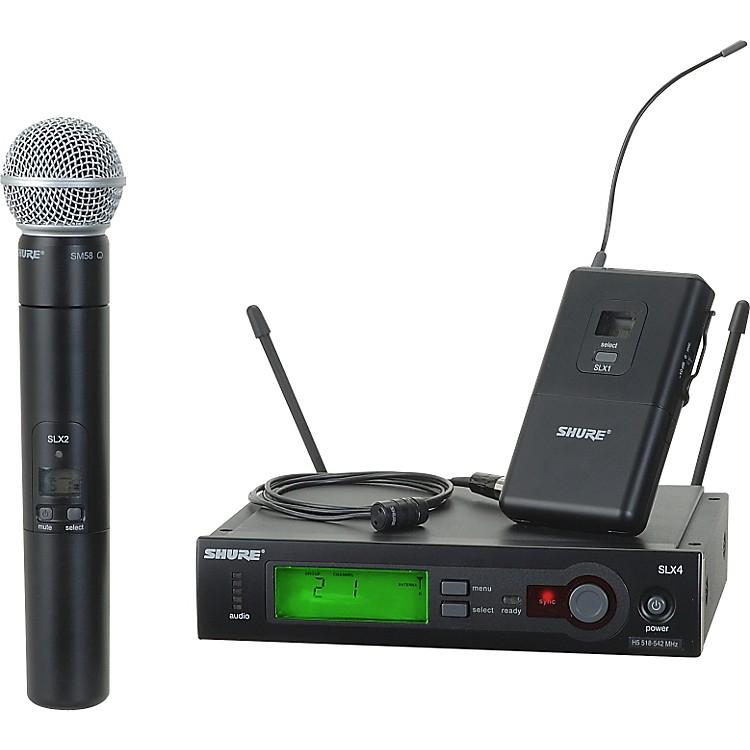 ShureSLX124/85/SM58 Dual SystemCH G4