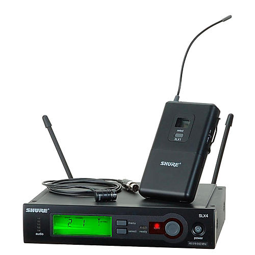 Shure SLX14/84 Lav Wireless System Band H19
