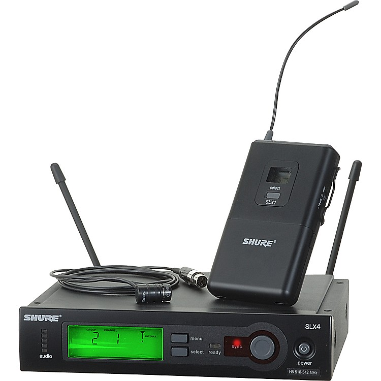 ShureSLX14/84 Lav Wireless SystemCH G5