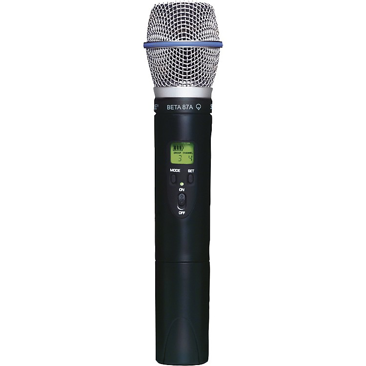 Shure SLX2/BETA87A Wireless Handheld Transmitter Microphone CH G4