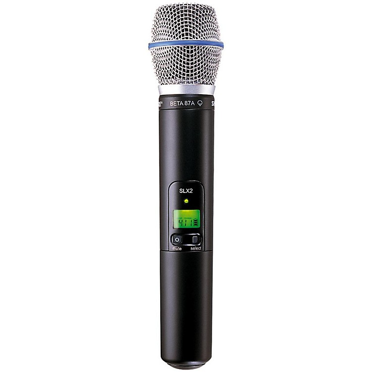 Shure SLX2/BETA87A Wireless Handheld Transmitter Microphone L4