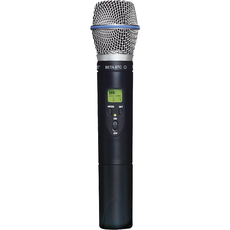 Shure SLX2/BETA87C Wireless Handheld Transmitter Microphone L4