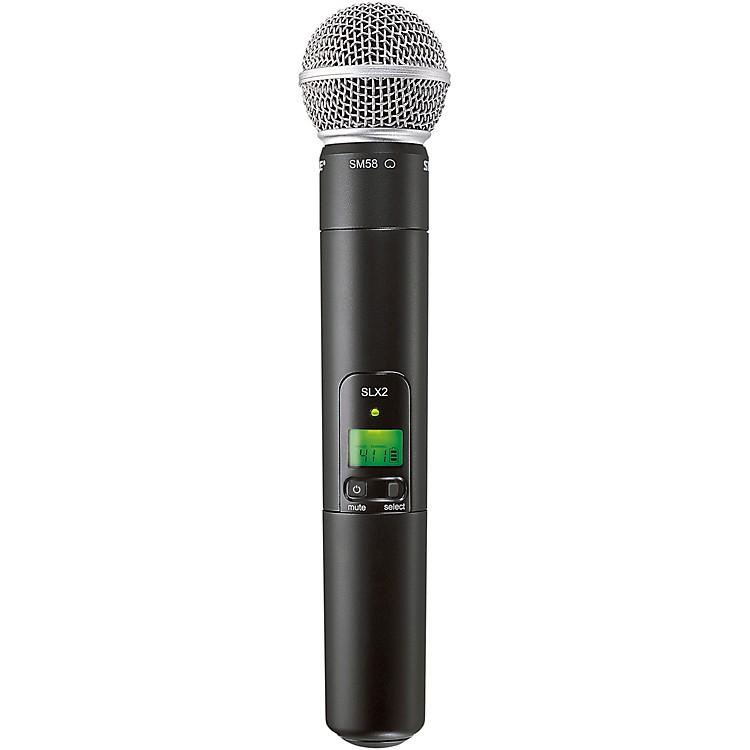 ShureSLX2/SM58 Wireless Handheld MicrophoneCH G5