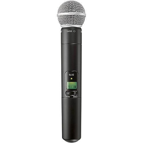 Shure SLX2/SM58 Wireless Handheld Microphone J3