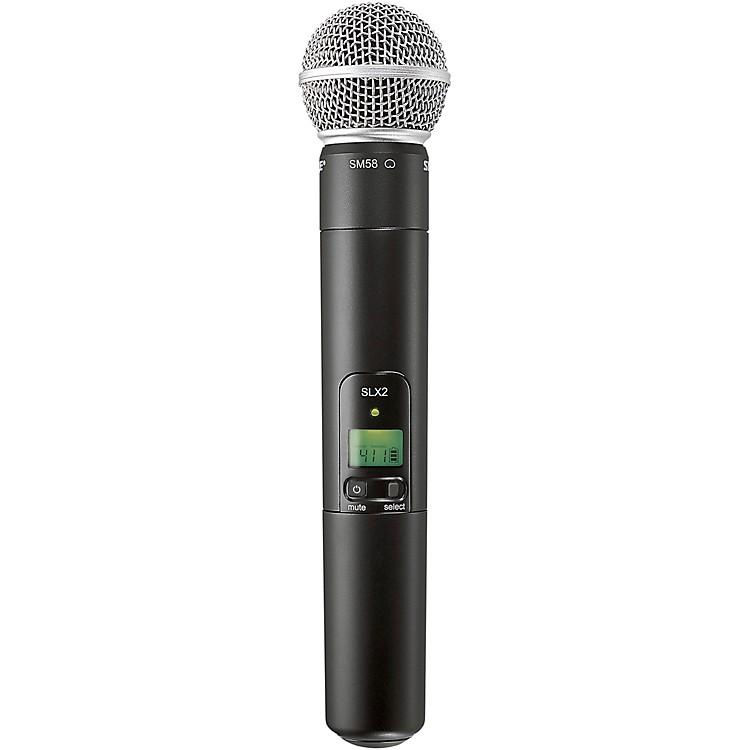 ShureSLX2/SM58 Wireless Handheld MicrophoneJ3