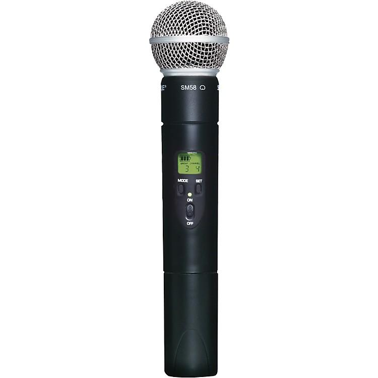 ShureSLX2/SM58 Wireless Handheld MicrophoneL4