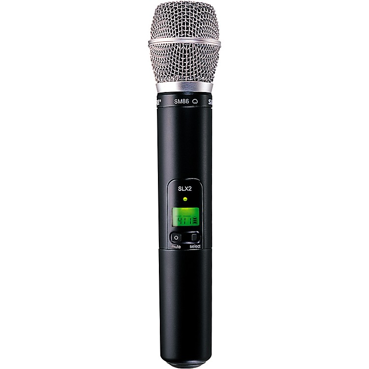 ShureSLX2/SM86 Wireless Handheld Transmitter MicrophoneH5