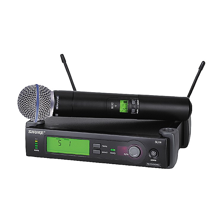 Shure SLX24/BETA58 Wireless Handheld Microphone System CH G4