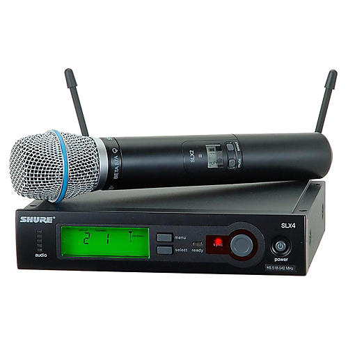 Shure SLX24/BETA87A Wireless Mic Sys-thumbnail