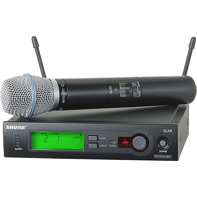 Shure SLX24/BETA87C Wireless Microphone System CH G4