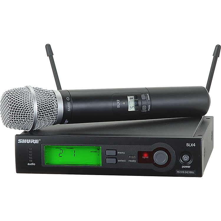 Shure SLX24/SM86 Wireless Microphone System CH G5