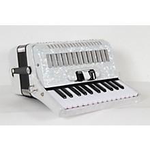 SofiaMari SM-2648, 26 Piano 48 Bass Accordion Level 2 White Pearl 190839105974