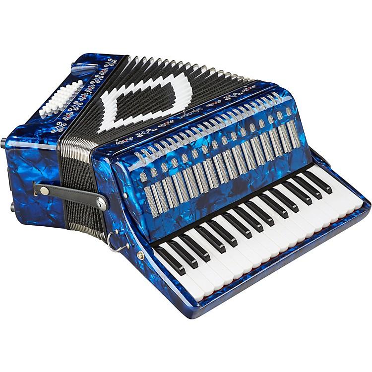 SofiaMariSM-3232 32 Piano 32 Bass AccordionDark Blue Pearl