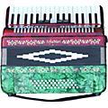 SofiaMariSM-3448 34 Piano 48-Bass AccordionRed & Green Pearl