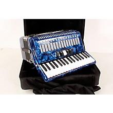 SofiaMari SM 3472 34 Piano 72 Bass Button Accordion Level 2 Dark Blue Pearl 190839040510