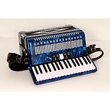 SofiaMari SM 3472 34 Piano 72 Bass Button Accordion Level 2 Dark Blue Pearl 888365718774