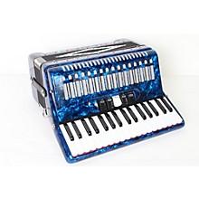 SofiaMari SM 3472 34 Piano 72 Bass Button Accordion Level 2 Dark Blue Pearl 888365734910