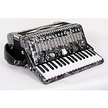 SofiaMari SM 3472 34 Piano 72 Bass Button Accordion Level 2 Pearl Gray 888365722474