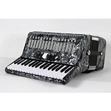 SofiaMari SM 3472 34 Piano 72 Bass Button Accordion Level 2 Pearl Gray 888366004364