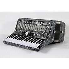 SofiaMari SM 3472 34 Piano 72 Bass Button Accordion Level 2 Pearl Gray 888366004388