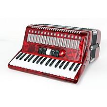 SofiaMari SM 3472 34 Piano 72 Bass Button Accordion Level 2 Red Pearl 190839075567