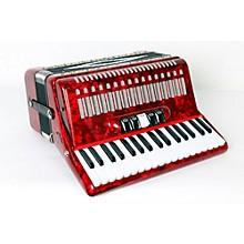 SofiaMari SM 3472 34 Piano 72 Bass Button Accordion Level 2 Red Pearl 888365775234