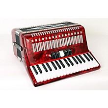 SofiaMari SM 3472 34 Piano 72 Bass Button Accordion Level 2 Red Pearl 888365912608