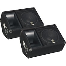 "Yamaha SM12V 2-Way 12"" Club Series Monitor Pair"