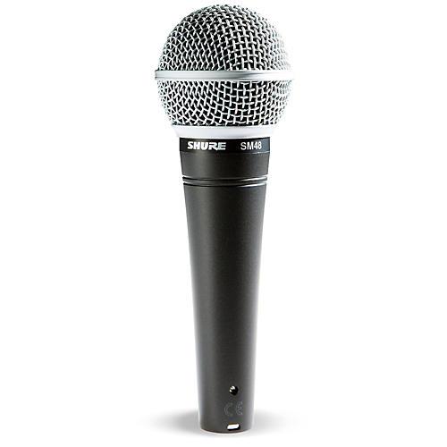 Shure SM48 Cardioid Dynamic Vocal Microphone-thumbnail