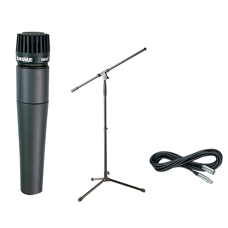 Shure SM57, Stand & Cable Package