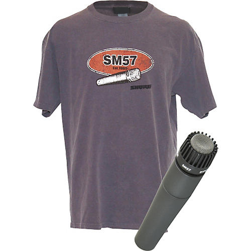 Shure SM57 and Free T-Shirt