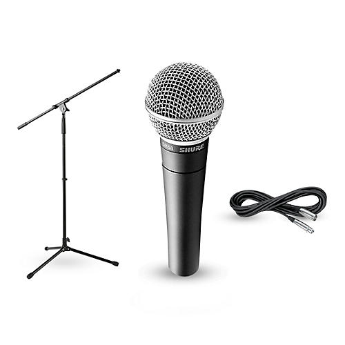 Shure SM58, Stand & Cable Package-thumbnail