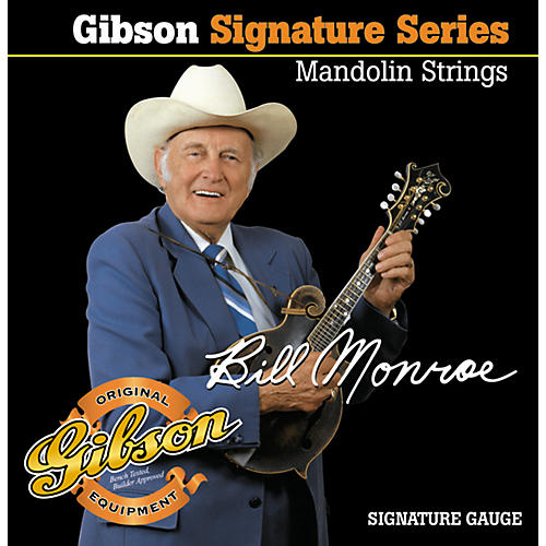 Gibson SMG-BMS Bill Monroe Mandolin Strings-thumbnail