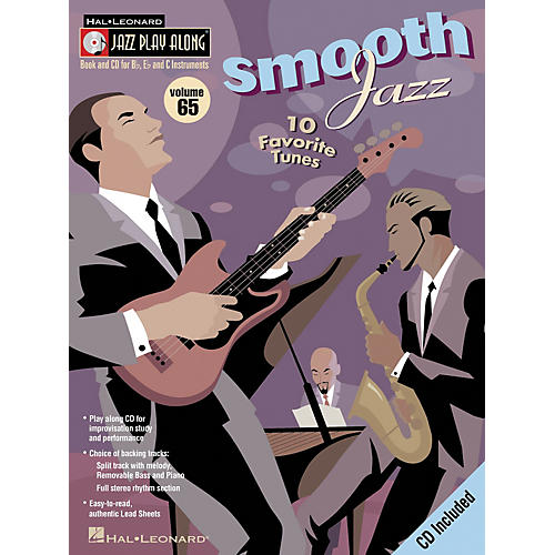 Hal Leonard SMOOTH JAZZ - JAZZ PLAY-ALONG VOLUME 65 BK/CD