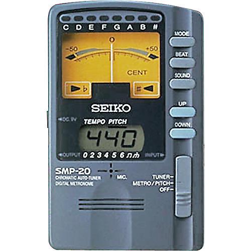 Seiko SMP-20 Chromatic Tuner and Metronome